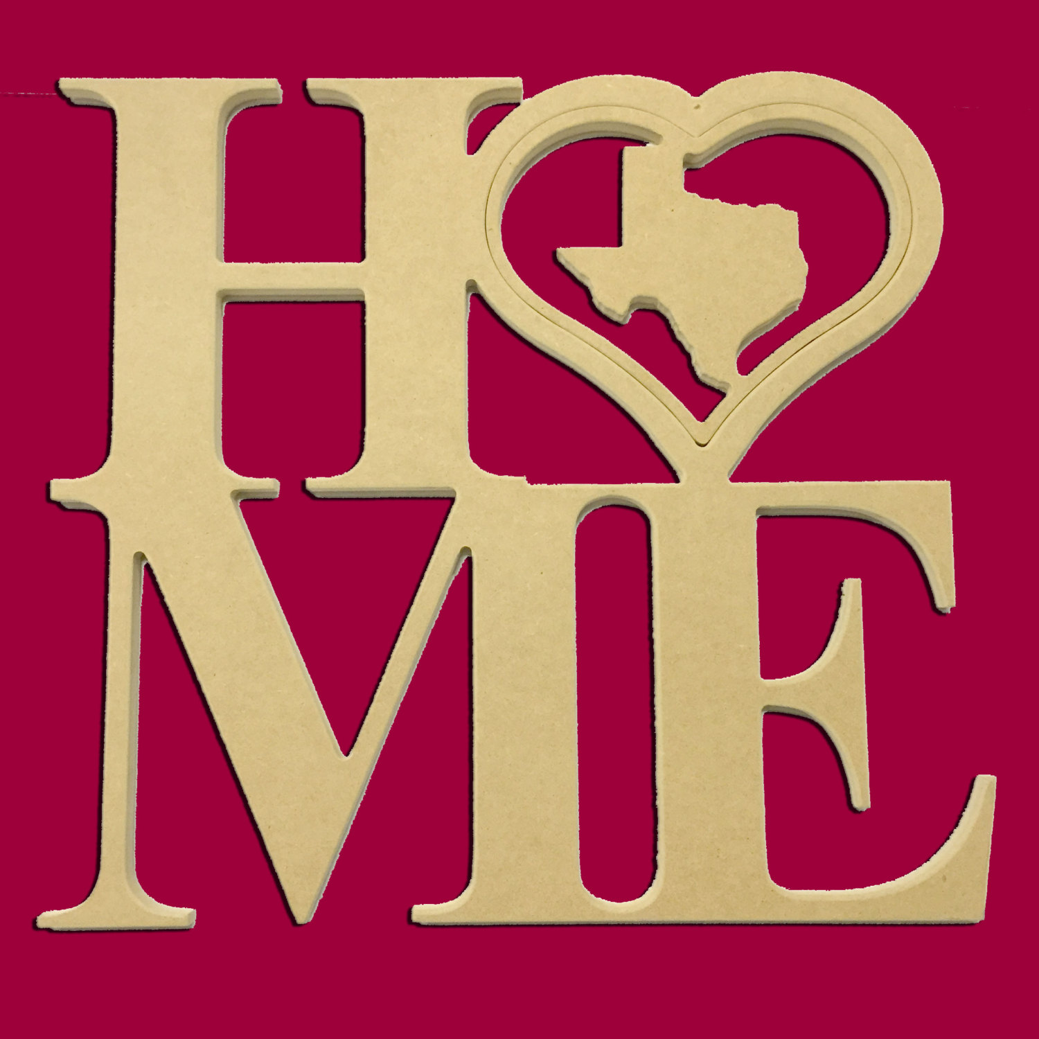 22 Quot Home Heart Large W 9 Quot Insert Options Times New Roman