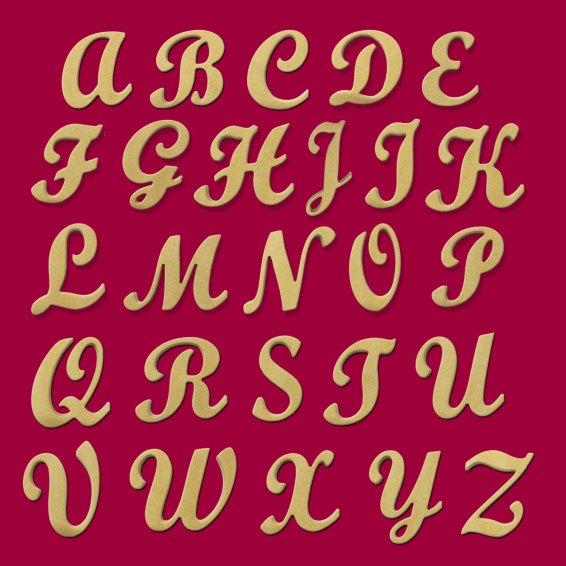 "10"" (Faith Hope Love Grace) Script Cursive Text Words"