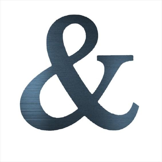 "Ampersand & (2"")"