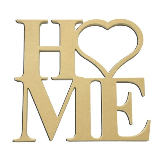 "22"" Home Heart Cutout"