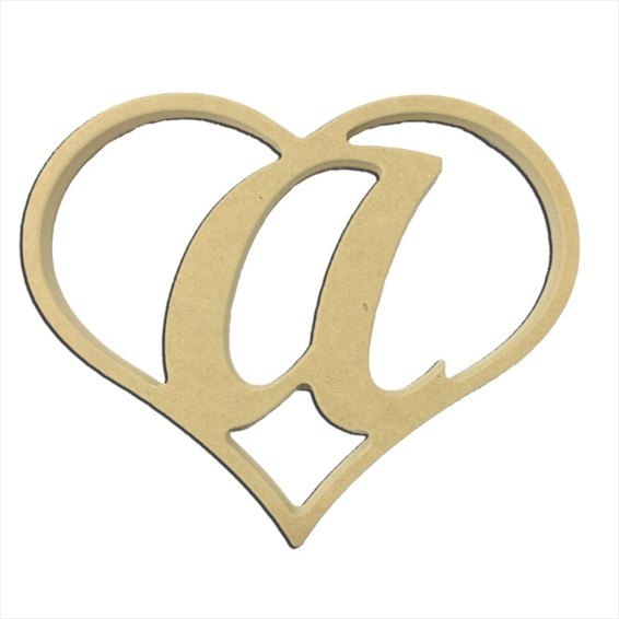 "9"" Script Letter A Insert"