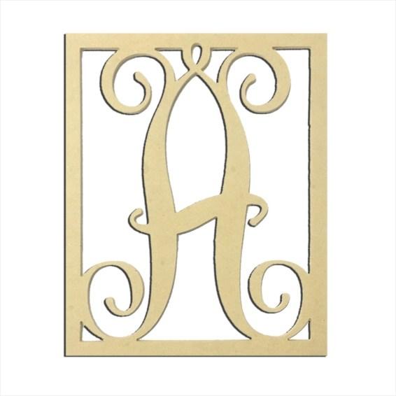 "14"" Monogram Capital Letter A"