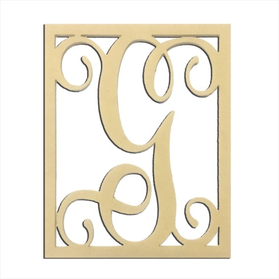 """14"""" Monogram Capital Letter G"""