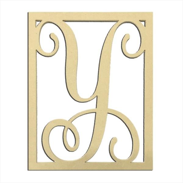 "14"" Monogram Capital Letter Y"