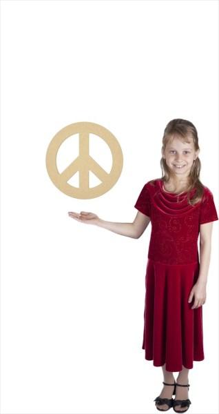 "Small Peace Sign (12"" Diameter)"