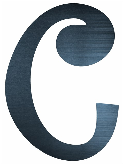 "Curly Letter C (4"")"