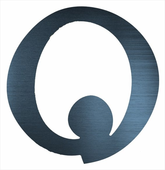 "Curly Letter O (4"")"
