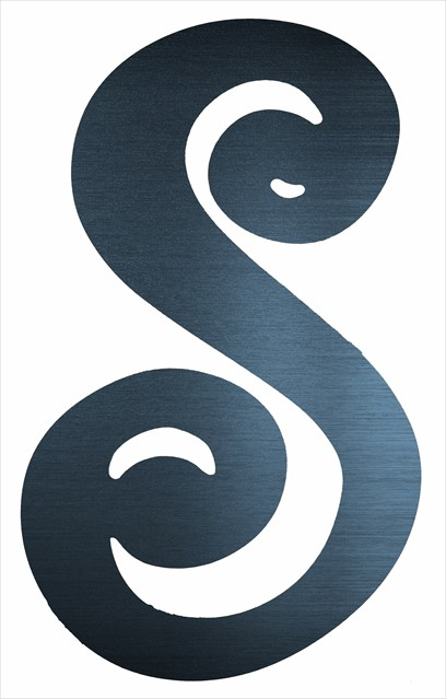 "Curly Letter S (4"")"