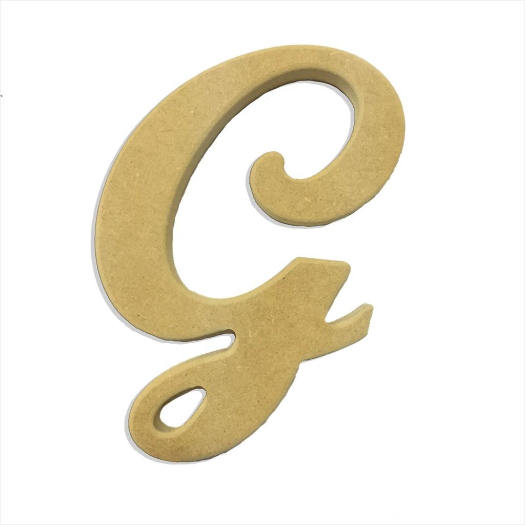22 Script Cursive Letter G