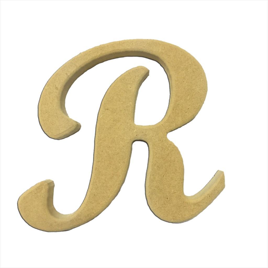 6 Script Cursive Letter R