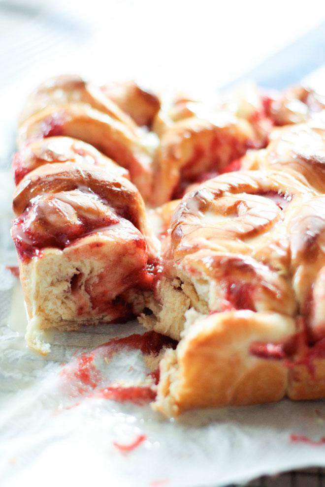 """Rolls fraises"""""""