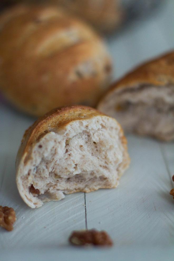 pain noix et beurre
