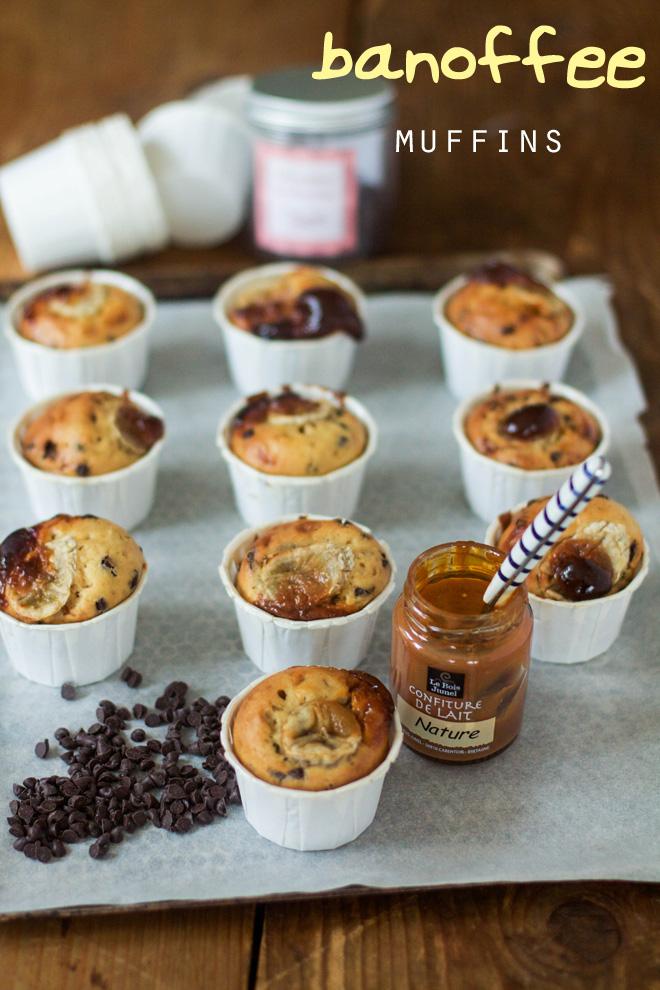 banoffee muffins
