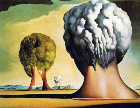 Salvador Dali -Three Sphinxes of Bikini