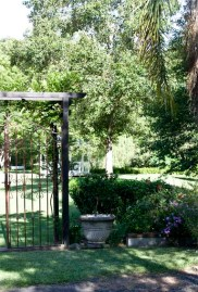 Wrought Iron Gates at Fires Creek Winery
