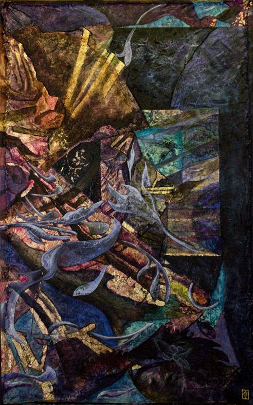 The Liquid Deep, Oils on canvas