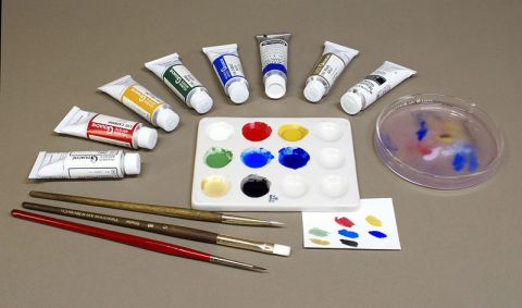 Gouache or Water Colour Palette
