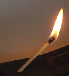 Photo of a match