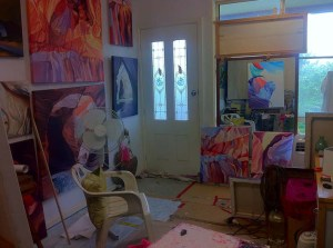 Using Mirrors - My studio and Mirror