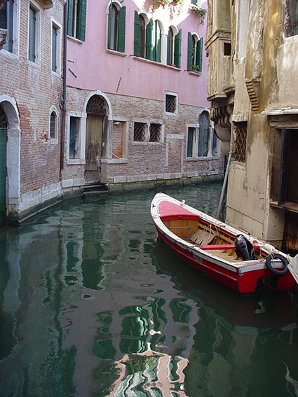 Art and fear - Venetian canal