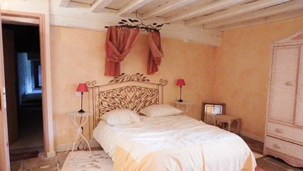 Chateau de Tailly Bedroom