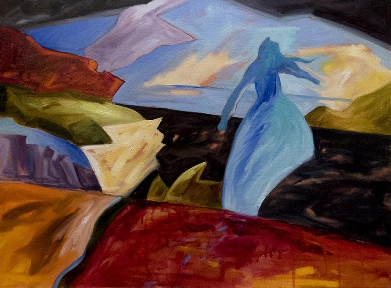 refugee painting,vlog,The First Step,Kadira Jennings