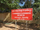 Despite what the name might suggest, this is run by a former Khmer Rouge soldier and now an NGO dedicated to removing the unexploded ordinance that is all over Cambodia.