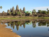 Requisite Angkor-reflection photo.