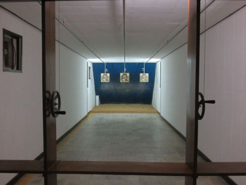 Oh, just your usual shooting range.