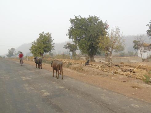 Outside of Chanderi