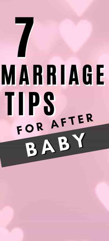 unhappy marriage after baby