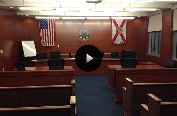 UNF Student Union Courtroom