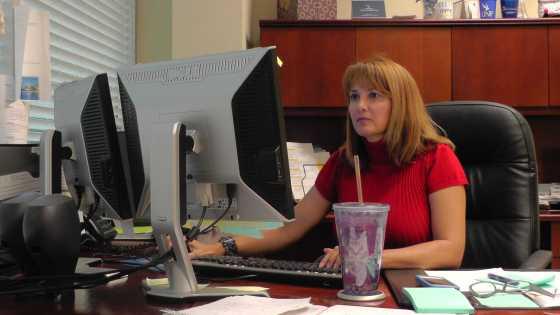 Sharon Ashton, the new VP for Public Relations. Photo by Natalie Logan