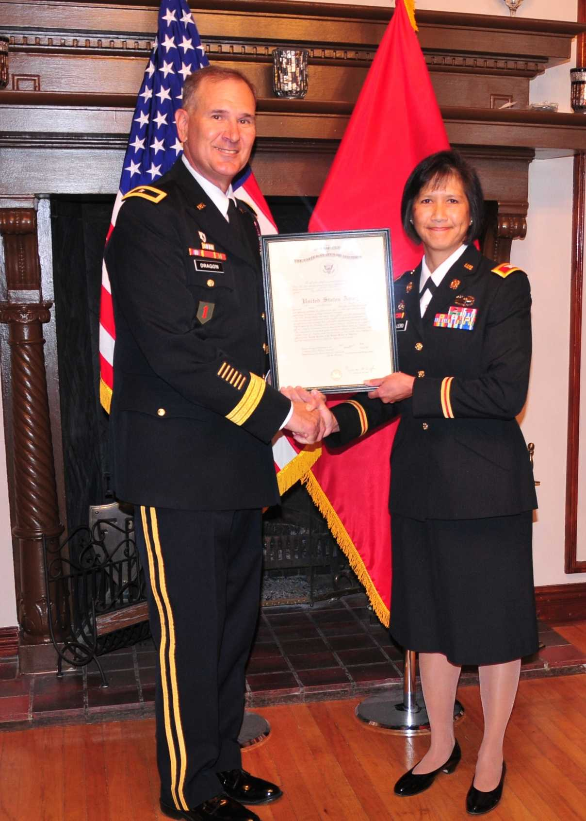 Unf Spinnaker Unf Alum Promoted To Rare U S Army Rank