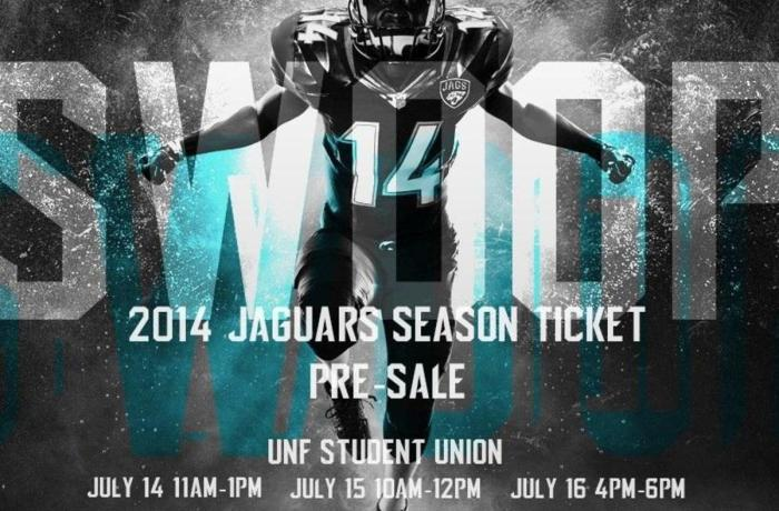 Students flock to Jaguars season ticket presale event