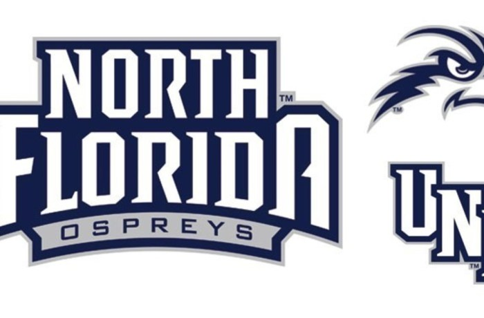 Lee Moon, UNF's athletic  director, his staff, and LRG Marketing worked together to create a new   UNF logo.