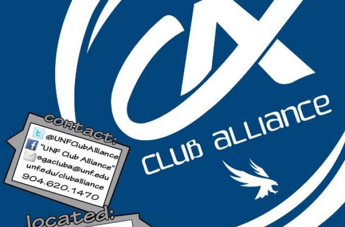 UNF currently has over 200 registered clubs and student organizations. For full list, check out Club Alliance's page. Photo courtesy Club Alliance Facebook