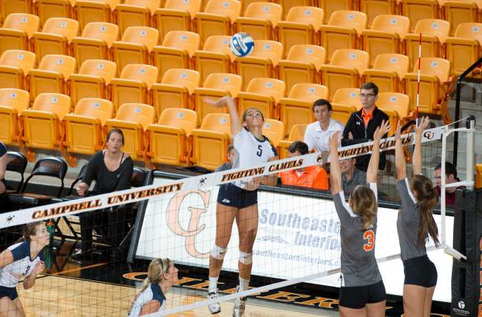 Women's volleyball wins one of three at Hampton Inn & Suites of Holly Springs invitational