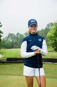 Alpe is optimistic about the remainder of her golf career at UNF.Photo by Robert Curtis