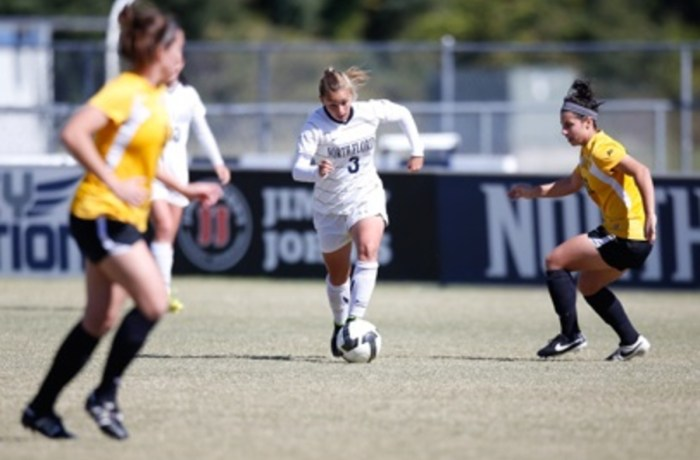 UNF women's soccer team wraps up season with a loss to NKU