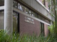 The Auxiliary Oversight Committee met in J. J. Daniel Hall to discuss Photo by Morgan Purvis