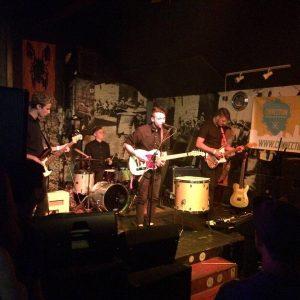 Boysin performing at the Burro Bar. Photo courtesy Facebook