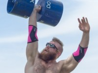 Working out with Andrew Clayton, America's fourth strongest man