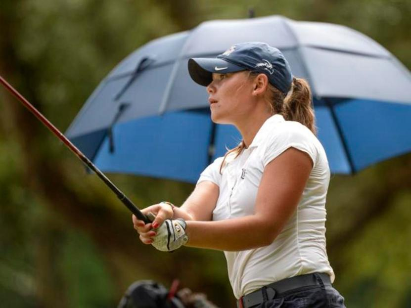 Mary Dawson led the Ospreys to their first A-Sun Championship in program history. Photo courtesy ASunPhoto.com