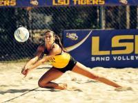 Katarina Raicevic played for Louisiana State University for two years.Photo courtesy Facebook