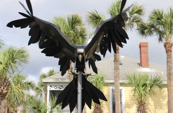 UNF Opens Seaside Sculpture Park Featuring Student Artwork