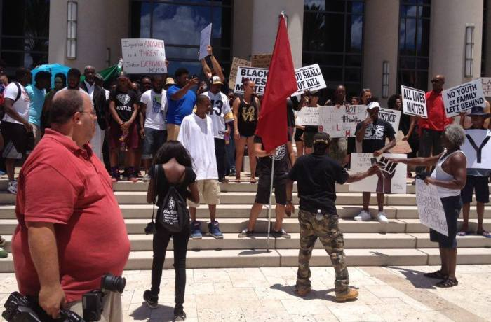 UNF students join Black Lives Matter rally