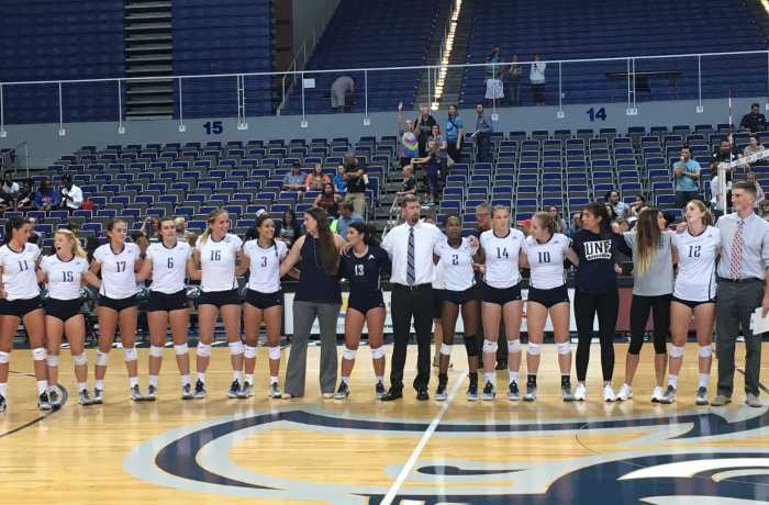 The Ospreys swept JU in the River City Rumble with a win Friday.