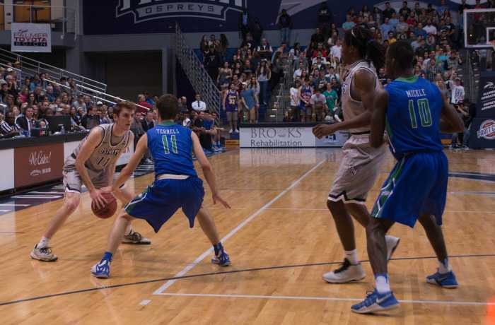 The Ospreys faced No. 1 FGCU twice this season, and lost both times. Photo by Lili Weinstein