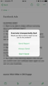 Evernote Jumped The Shark